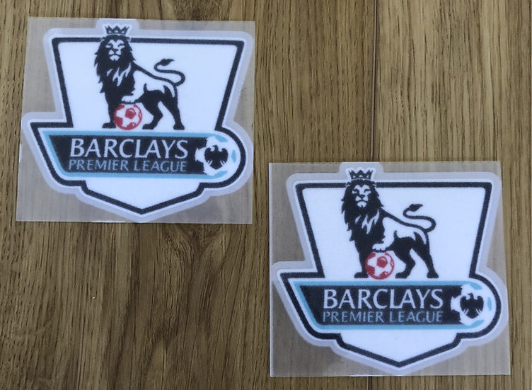 BARCLAYS PREMIER LEAGUE PLAYER ISSUE SLEEVE PATCHES FELT TYPE 2007-13