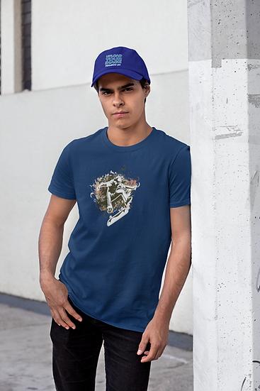 SKATER DESIGN Tee Shirt