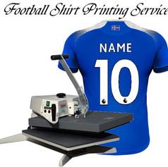 Football shirt printing service