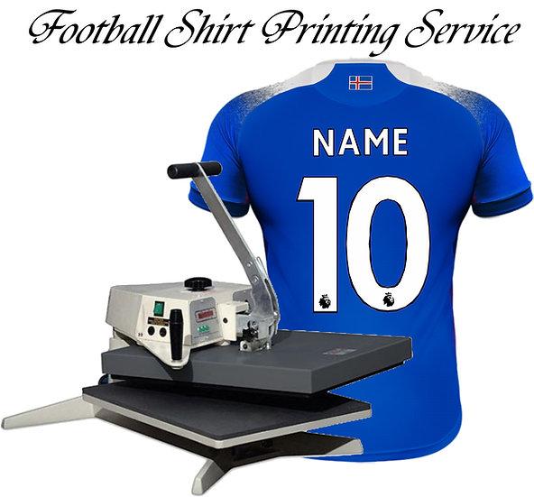 FOOTBALL JERSEY PRINTING SERVICE