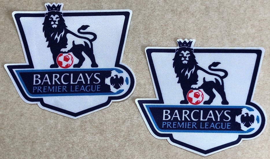 BARCLAYS PREMIER LEAGUE PLAYER ISSUE SLEEVE PATCHES TYPE 2013-2016