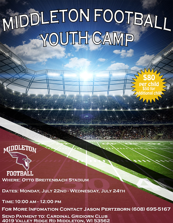 2019 Youth Camp Flyer