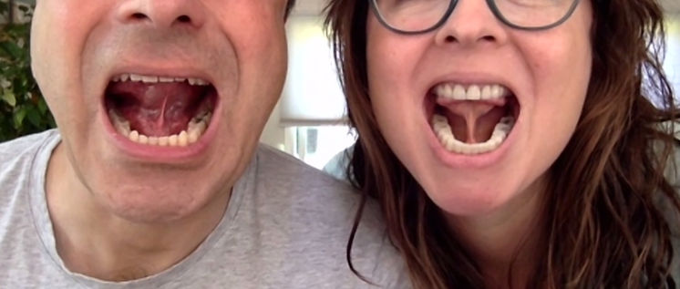 Tongue suction