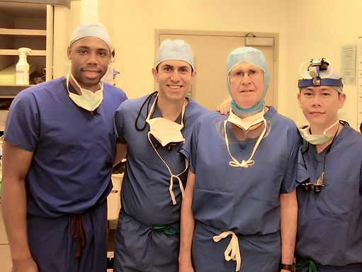 Stanford Sleep Surgery Fellows; Ryan Williams, Soroush Zaghi, Robert Riley, Stanley Liu