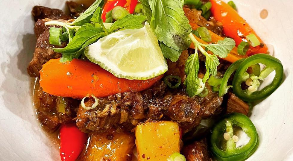 Tamarind braised pork