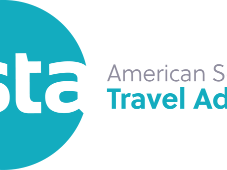 We have joined ASTA - American Society of Travel Advisors