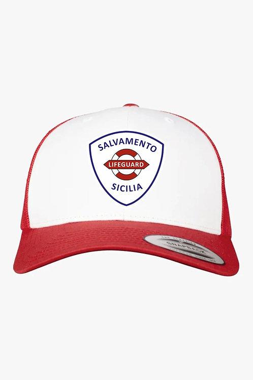 Cappellino retro in rete Salvamento Sicilia