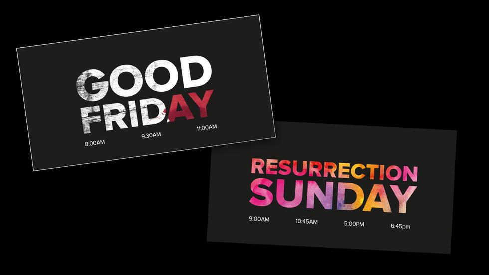 Easter2018 - postcards