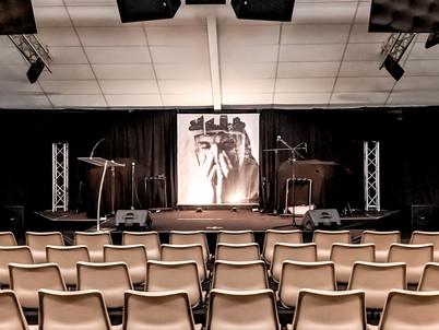 Samuel sermon series stage design 2019
