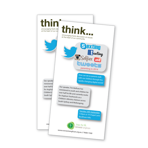 Think - information flyer