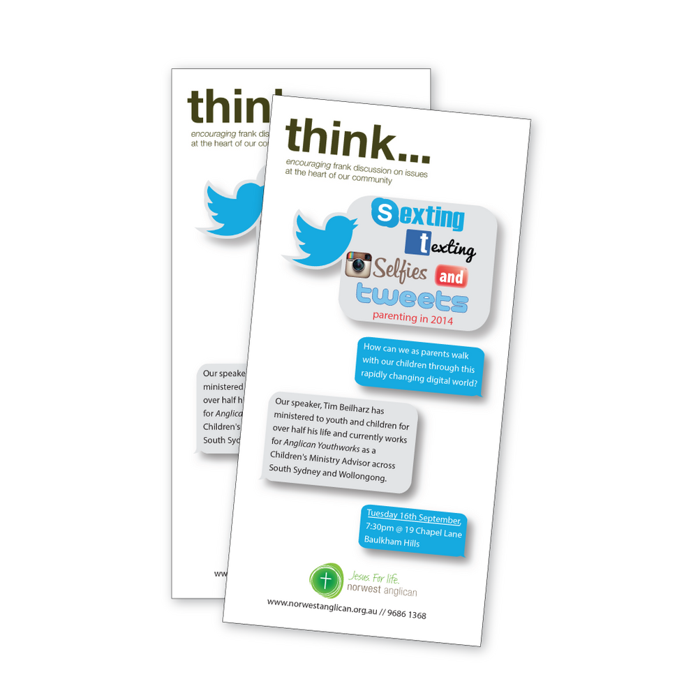 Think - information flyer