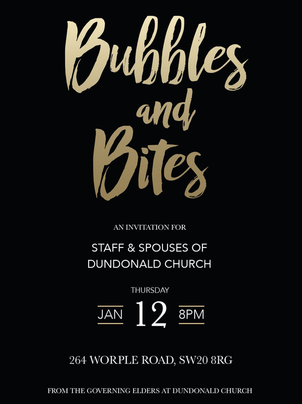 Staff Party - invite