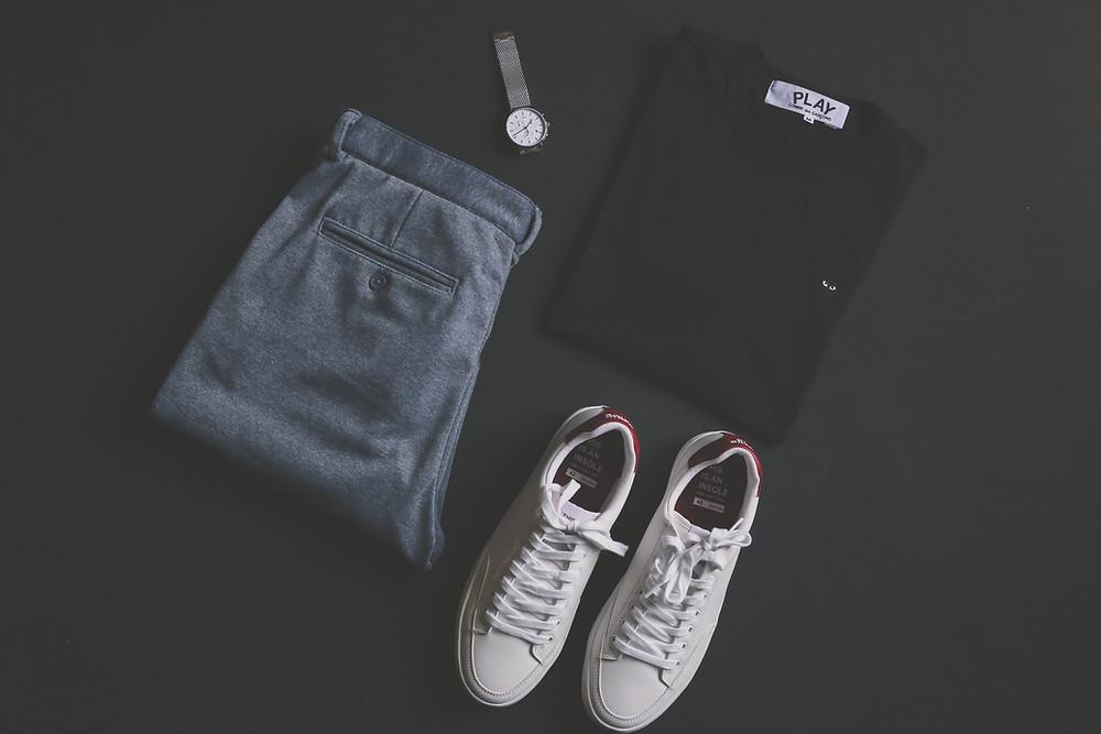 Vêtements simples