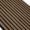 Thumbnail: Lamelový obklad OŘECH