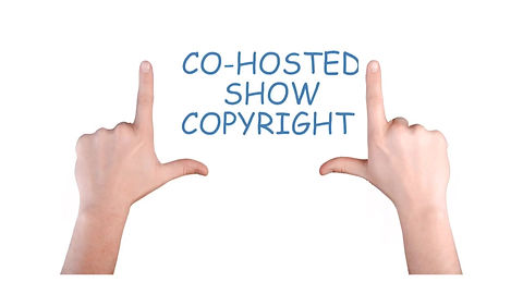 Co-hosted show copyrights