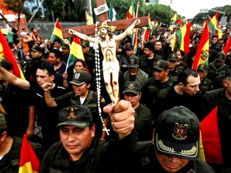 """""""Golpe de Estado e entronização do fascismo na Bolívia"""""""