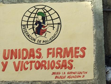 A mulher cubana em todos os fronts