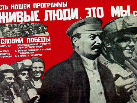 """""""O grande arquiteto do comunismo"""""""