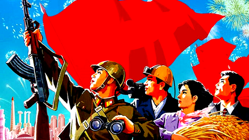 """Kim Jong Il: """"Sobre imbuir toda a sociedade com traços morais comunistas"""""""