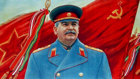 """""""Stalin nos conduz à vitória do comunismo"""""""
