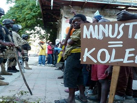 """""""Haiti precisa de ajuda sincera; Não à ocupação da Minustah"""""""