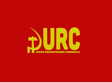 """URC: """"Aos 96 anos da fundação do Partido Comunista no Brasil"""""""
