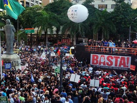 Crise financeira no Estado do RJ e a contraofensiva das massas populares