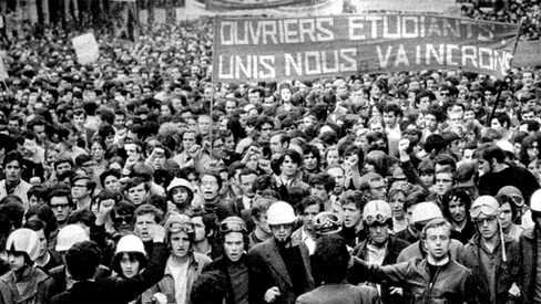 """""""Declaração de apoio à luta dos estudantes e operários franceses"""""""