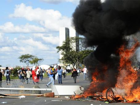 Brasil em chamas e sangue!