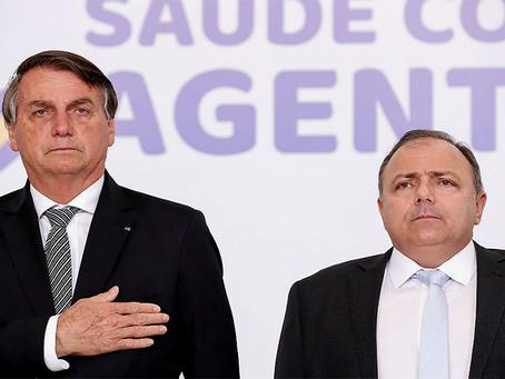 A vacinação e os descalabros de Bolsonaro e Pazuello