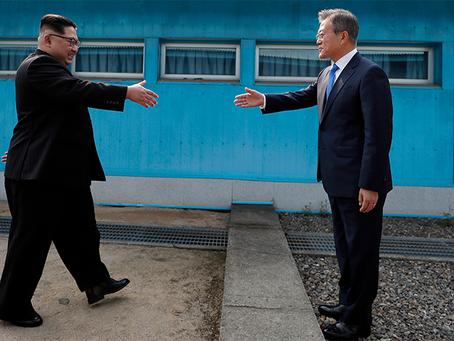 """""""Declaração de Panmunjom para a Paz, a Prosperidade e a Unificação da Península Coreana"""""""