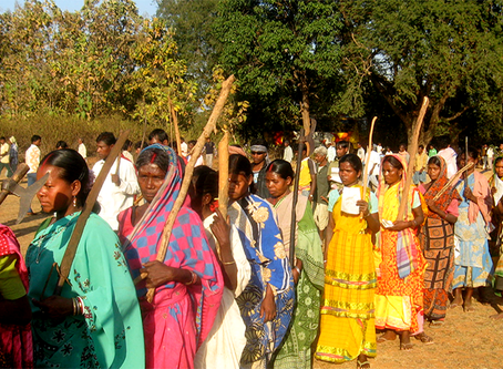 """""""Isolar o peixe da água: uma prática genocida na Índia"""""""