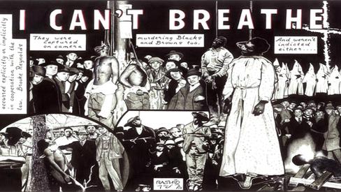 """""""Nós não podemos respirar: Sobre o linchamento de George Floyd"""""""