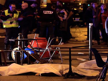 Sobre os recentes atentados na França