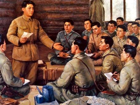 """Kim Il Sung: """"Sobre a disseminação e desenvolvimento da luta armada na pátria"""""""