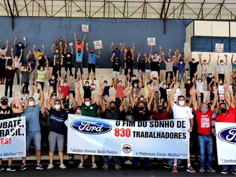 Fechamento de fábricas da Ford e o abismo da desindustrialização brasileira