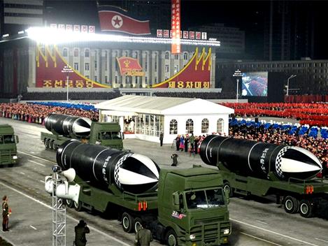 """""""Exército Popular da Coreia vai garantir a nova marcha do Partido com armas"""""""