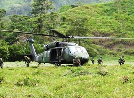 """""""Colômbia amplia setor militar e envia mais efetivos à sua fronteira com Venezuela"""""""