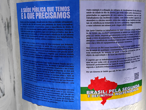 A urgente necessidade da luta em defesa do SUS no Brasil