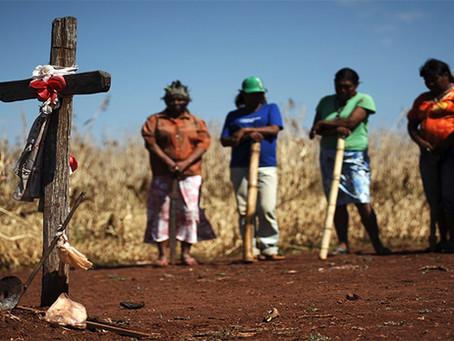 Paramilitares atacam povo Guarani Kaiowá no MS