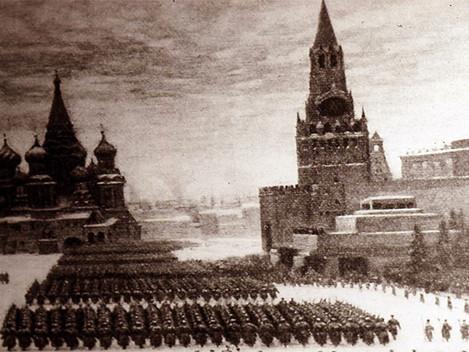 Discurso de Stalin na parada militar do 24º aniversário da Revolução de Outubro