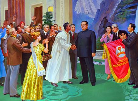 """""""A contribuição de Kim Il Sung para a África"""""""
