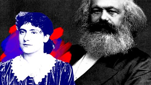 """""""Karl Marx, por sua filha Eleanor"""""""