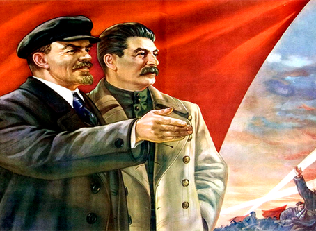 """Lenin, Stalin e a paz"""