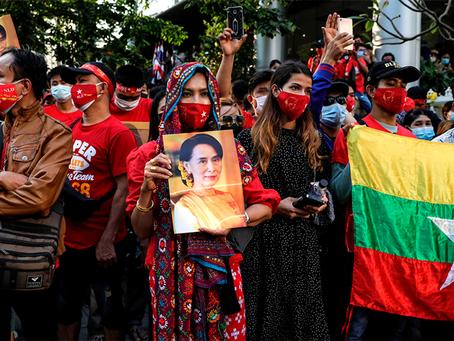 Sobre o Golpe Militar em Mianmar