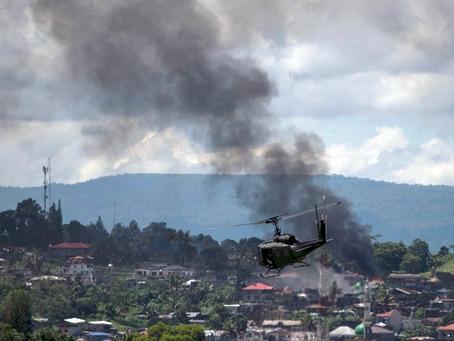 """""""Pare os bombardeios aéreos de Batangas nas Filipinas!"""""""
