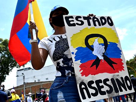 ¡Nos están matando! A revolta das massas colombianas contra o Estado reacionário
