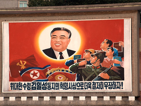 """""""Kim Il Sung, o libertador da Coreia"""""""