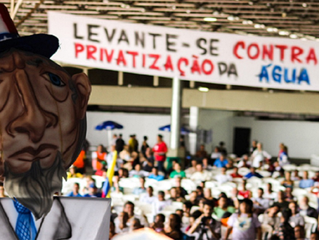 """Saneamento básico, """"novo marco do saneamento"""" e capitalismo burocrático"""