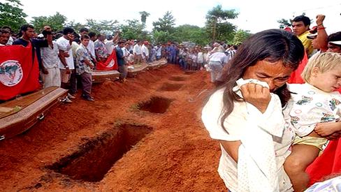 """""""17 de abril: as marcas de um massacre"""""""